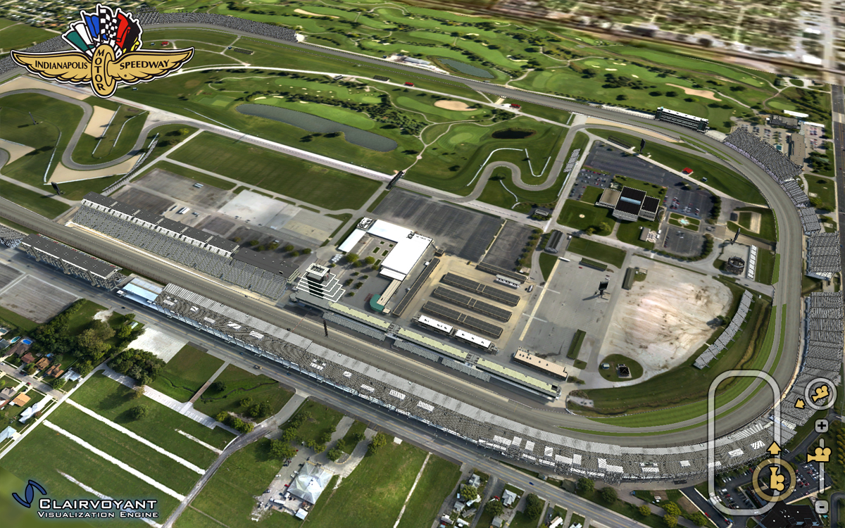 Paul forgy racetracks for Indianapolis motor speedway indianapolis in